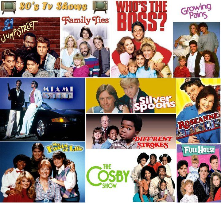 collage of 80s tv shows