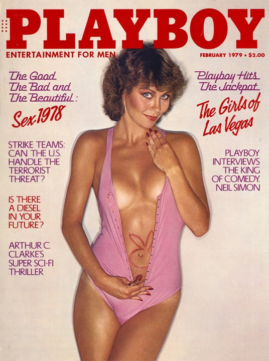 cover of playboy 1980